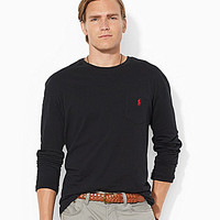 Polo Ralph Lauren Classic-Fit Jersey Pocket Tee - Carson Blue