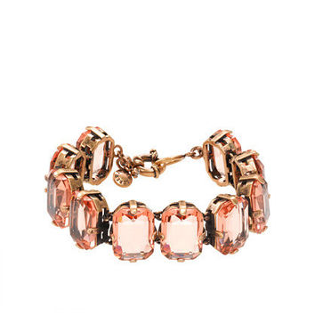 Soft Peach Color stone bracelet - jewelry - Women's new arrivals - J.Crew