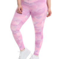 Blackheart Pastel Sky Leggings Plus Size