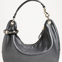 Jimmy Choo 'Solar - Small' Pearlized Metallic Leather Hobo | Nordstrom