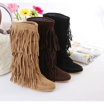 Shoeselfee Slouch Boots