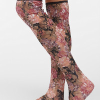 Urban Outfitters - Textured Lace Over-The-Knee Sock