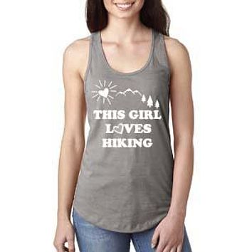 This Girl Loves Hiking Tank Top