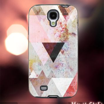 MC42Z,15,Geometric,pattern,art,painting,pastel-Accessories case cellphone- Design for Samsung Galaxy S5 - Black case - Material Soft Rubber