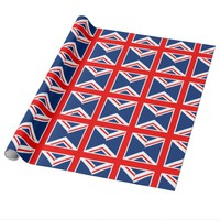 UK Flag England Wrapping Paper
