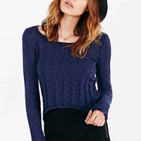 Silence + Noise Buffy Cropped Top-