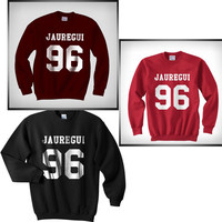 Lauren Jauregui 96 Unisex Crewneck Sweatshirt S to 3XL fifth harmony Color Navy, Red, Black, White, maroon,etc
