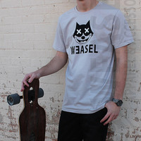 Felix the Cat Weasel Apparel Graphic Tee Silver Shirt