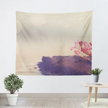 Flowers in Paradise 3 Tapestry