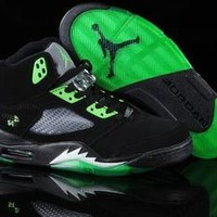 air jordan prime 5 black green