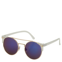 Square Corner Round Sunglasses - Sunglasses - Bags & Accessories - Topshop USA