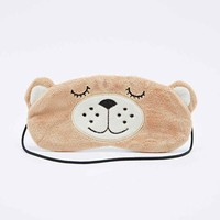 Bear Eye Mask - Urban Outfitters