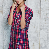 Dreamer Flannel Sleepshirt - The Dreamer Flannel Collection - Victoria's Secret