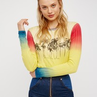 Free People Hot Pop Tee