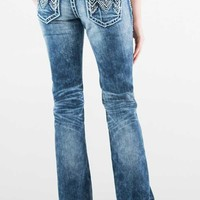 Grace in LA Jeans Bootcut with Chevron Embroidered Pockets JB61059