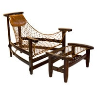 Jean Gillon Jangarda Lounge chair & ottoman for WOODART.