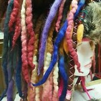 Wool Dreadlock Wig Dreadlock Beanie Hippie Dreads Dreadlock Hat  Over 60 Dreads