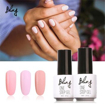 Bling One Step 7ML Pure Color 80 Colors UV Gel Nail Polish Nail Gel Long-lasting Gel Polish Nail Art