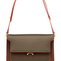 Trunk Leather Shoulder Bag - Marni | WOMEN | US STYLEBOP.COM