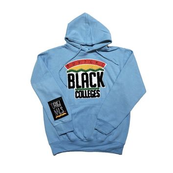 Originals Support Black Colleges Hoodies in Sky Blue