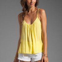 SAM&LAVI Derant Tank in Light Yellow from REVOLVEclothing.com