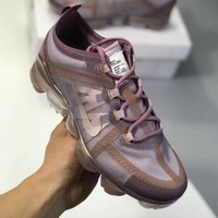 KUYOU N880 Nike Air VaporMax 2019 Air Cushion Running Shoes Maroom
