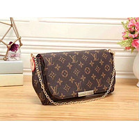 Louis Vuitton Women Shopping Leather Satchel Shoulder Bag Handbag Crossbody