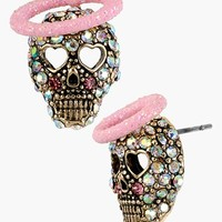 Betsey Johnson 'Angel & Devil' Stud Earrings | Nordstrom