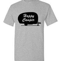 Happy Camper Camping Shirt