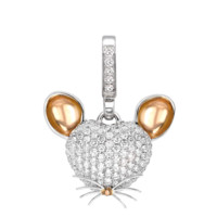 Limited Edition Woodland Mouse Diamond 'Art Pendant - Arts - Collections