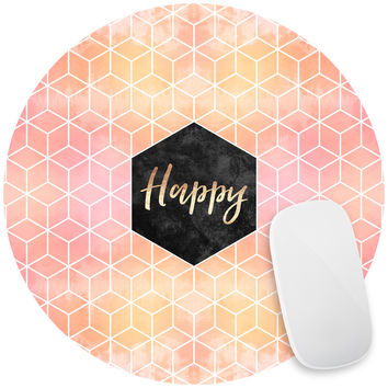 Happy Mouse Pad Decal