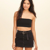 Girls Jersey Bandeau Top | Girls Tops | HollisterCo.com