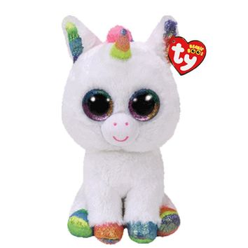 """Ty Beanie Boos Stuffed & Plush Animals Colorful White Unicorn Doll Toys For Children With Tag 6"""" 15cm"""