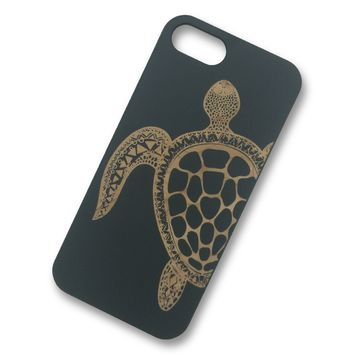 iPhone 7/7s- Turtle Wooden Phone Case