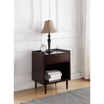 Comfort Pointe Talya 1 Drawer Nightstand | Hayneedle