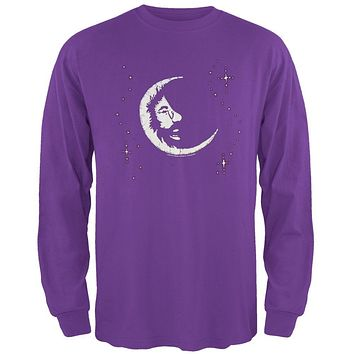 Jerry Garcia - Moon Long Sleeve T-Shirt