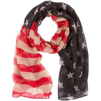 The American Flag Scarf