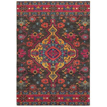 Area Rug by Oriental Weavers Bohemian Collection 8222D