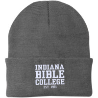 IBC - Clean Text - Knit Cap