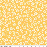 Seaside by October Afternoon for Riley Blake, yellow floral