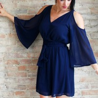 Elizabeth Cold Shoulder Dress