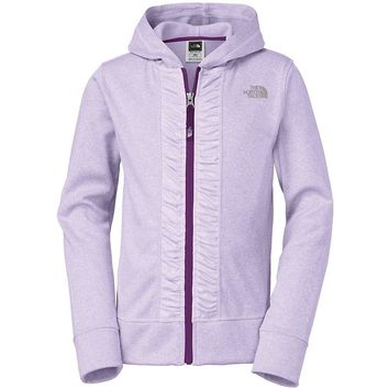The North Face Girls' Moksha Surgent Full Zip Hoodie