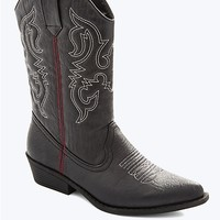 Western Style Mid-Boot