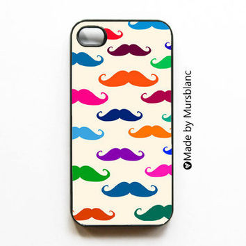 Iphone Case Mustache Facial hair Italian French by HipsterCases