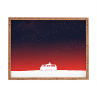 Budi Kwan Quiet Night And Starry Sky Rectangular Tray