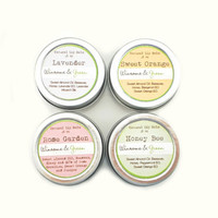 Lip Balm Sampler the Whole ShaBang Honey Herbal by WinsomeGreen