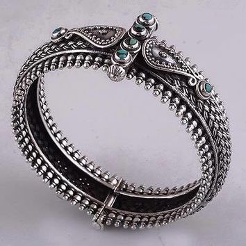 925 Silver Turquoise  Bangle