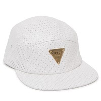 Original Chuck White Perforated Camper 5 Panel Hat - Mens Backpack - White - One