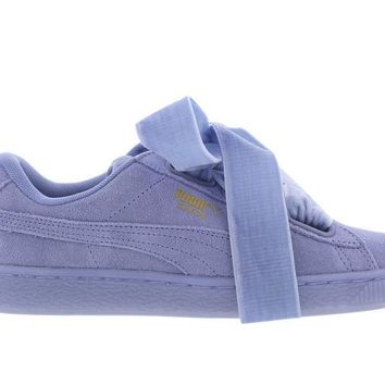 PUMA X FENTY SUEDE HEART RESET LAVENDER LUSTRE ALL SIZES