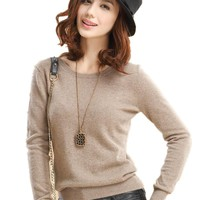 Women's Cashmere Pullover Sweater